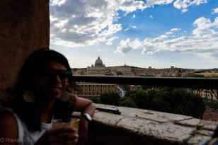 Cafe at Castel Sant'Angelo