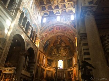 Inside Duomo di Pisa