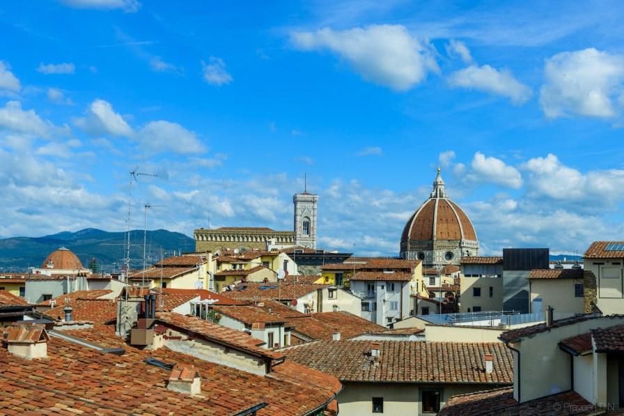 View from Uffizi gallery