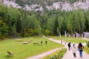 Hike to Dachstein ice cave