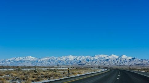 I-80 east through Nevada
