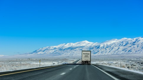 I-80 east through Nevada