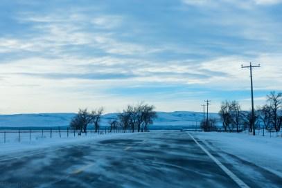 Snow crossing