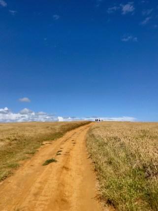Trail to Papakōlea beach