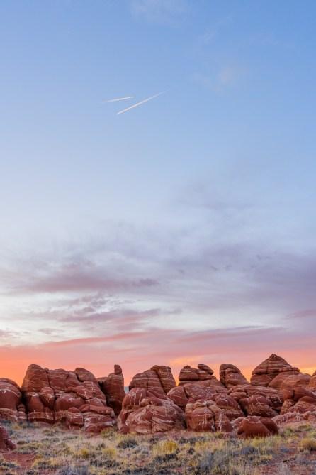 Blue Canyon sunset