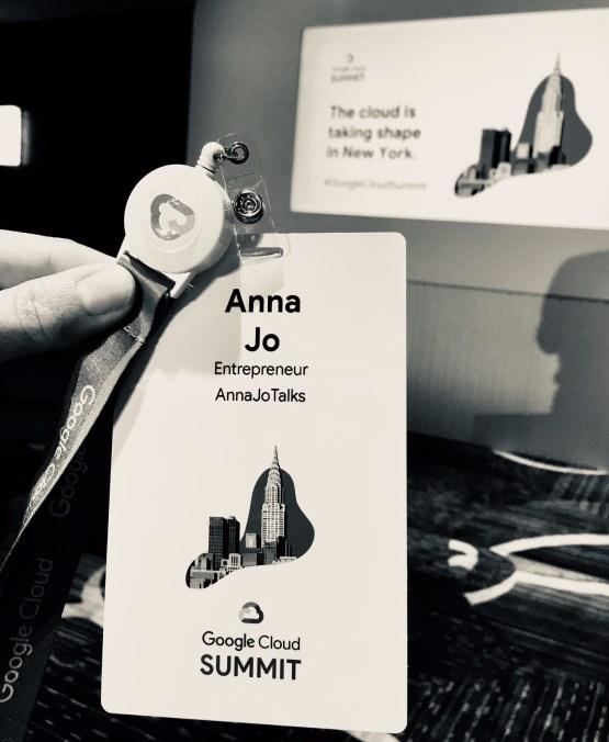 A Non Tech Girl @Google Summit