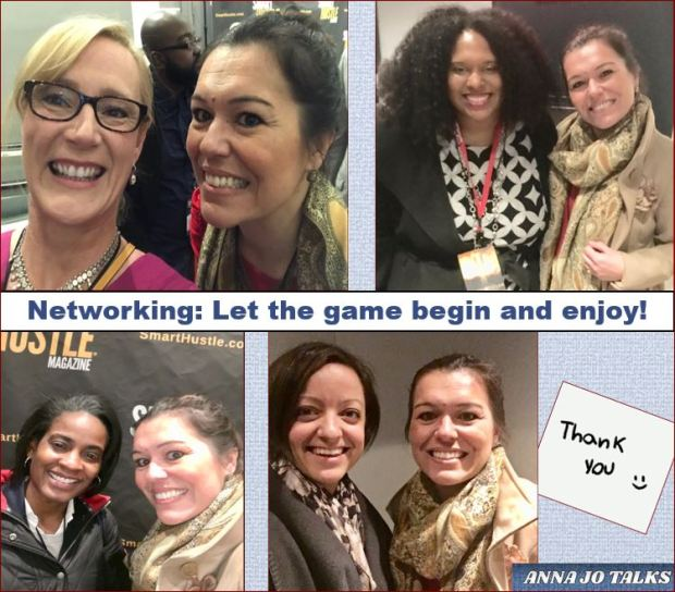 the fear and the joy of networking