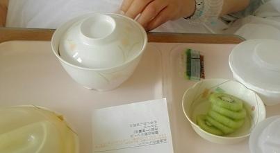 父と病院食