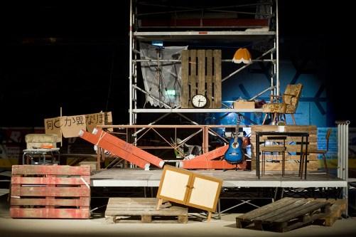 Irgendwie Anders, Greizer Theaterherbst. Foto: K. Schaarschmidt. Ausstattung: Julia Kopa.
