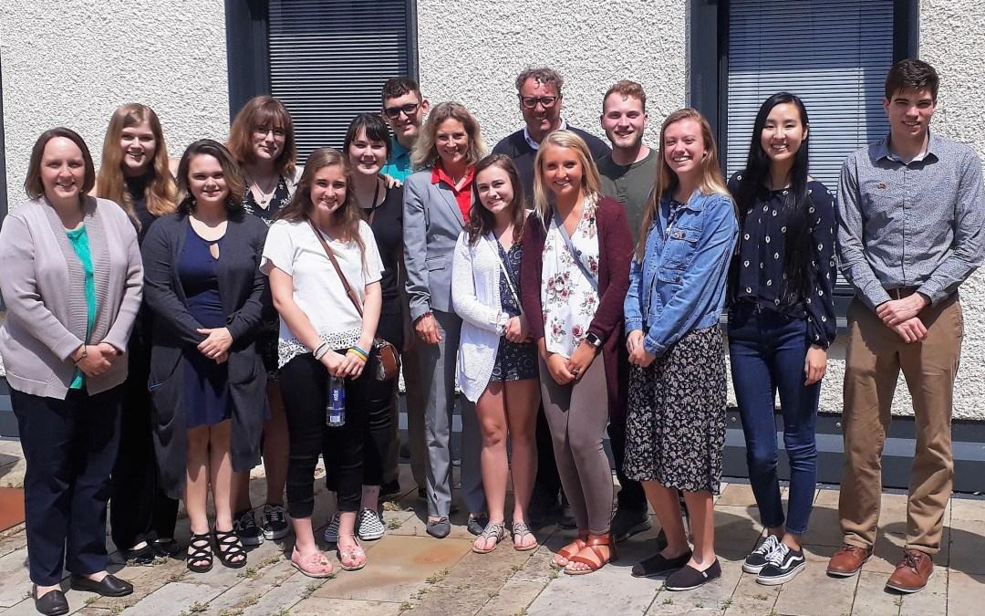 Studierende aus den USA informieren sich über Rheinland-Pfalz