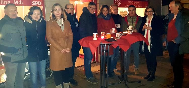 Glühweinabend des SPD-Ortsvereins Metternich-Bubenheim war ein gelungener Jahresabschluss