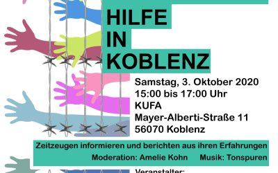 Fünf Jahre Flüchtlingshilfe Koblenz