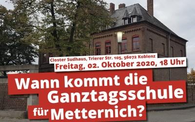 Die Ganztagsschule in Metternich könnte 2022 starten