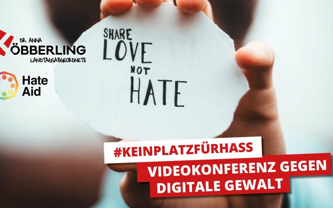 Videokonferenz gegen digitale Gewalt