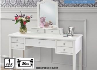Emilie French dresser with mirror, Aldi
