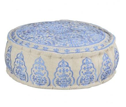 Ethnic ottoman, pale blue, Early Settler