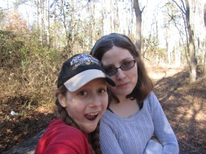 Mary and AnnaLeah at Battle Park, Rocky Mount, NC