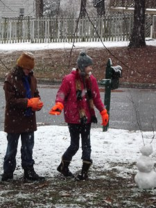 2 AnnaLeah and Mary in the snow, Rocky Mount (1)