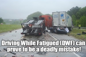 Driving While Fatigued