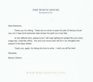 Email from Barack Obama White House.gov