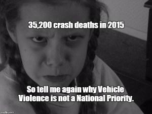 Vehicle violence