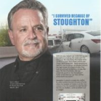 I Survived Because Of Stoughton: An improved rear underride guard saved this man from an underride death