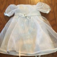 AnnaLeah & Mary: With Their Sister's Wedding Dress, Allison's Angel Gowns Sewed A Dress For A Baby Who Never Made It Home