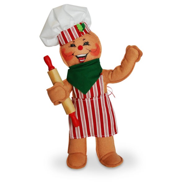 10in Gingerbread Chef Annalee Dolls