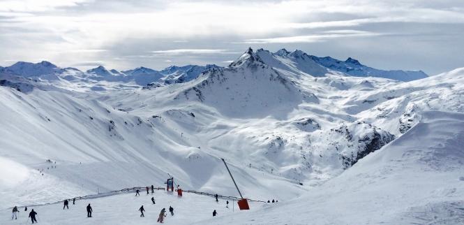 schnee berge apres ski