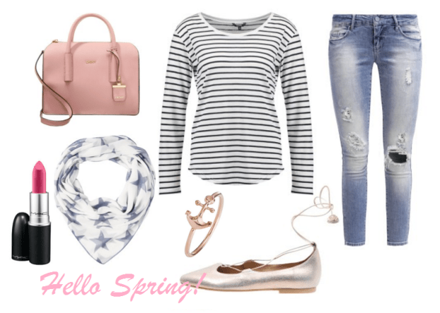 Frühling Spring Outfit