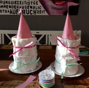 Windelburg Windelschloss Shower Baby Party