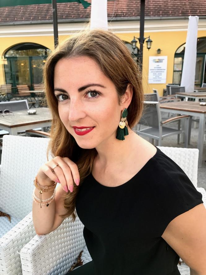 Ohrringe mit Quasten Annalena Loves