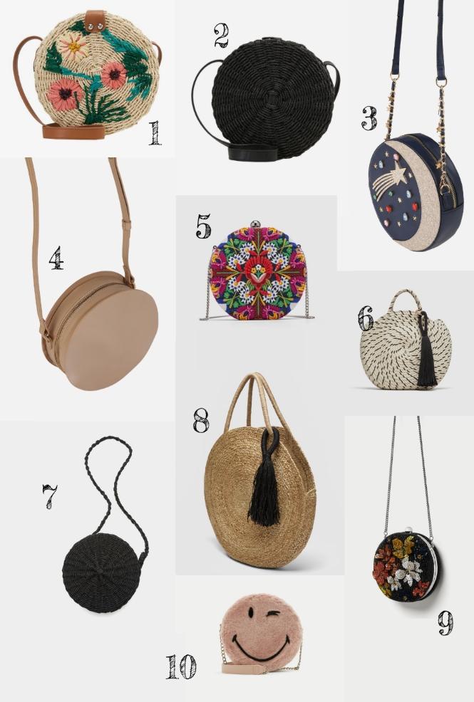 runde Handtasche Trend Schultertaschen Annalena Loves