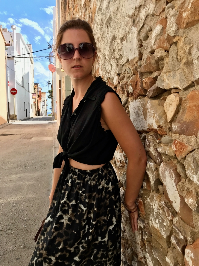 leo look animal print sommer herbst outfit inspiration  muster