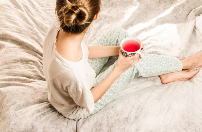 Loungewear pyjama haus outfit gemütlich