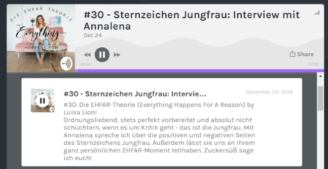 Podcast Luisa Lion sternzeichen jungfrau style Roulette