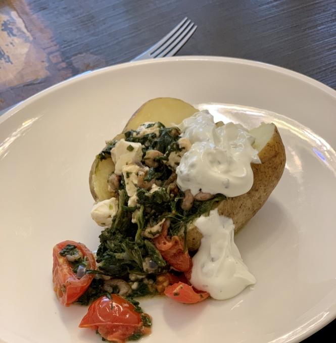 Lunch Mittagessen Kartoffel
