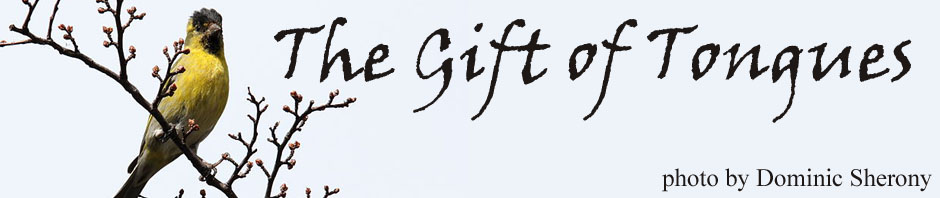 Gift of Tongues banner copy
