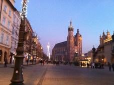 Main market square and Mariacki