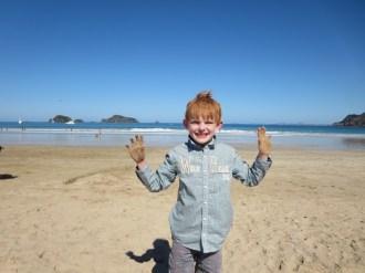 zandhanden