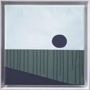 frame 5#2, 2019 - acrilico su tela - 25 x 25 cm
