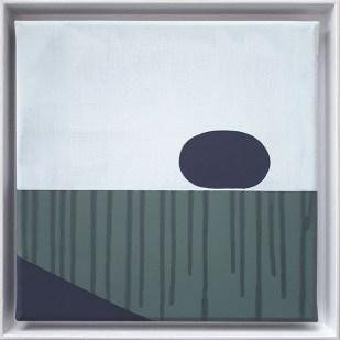 frame 5#3, 2019 - acrilico su tela - 25 x 25 cm