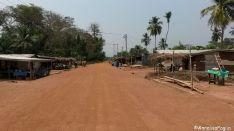 Sulla strada di Tafi Atome, nessun venditore di cocco