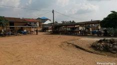 Piazza di Amedzofe col mercato