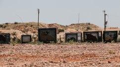 Coober Pedy. Post apocalyptic landscape. Installazioni? (foto: Anna Luciani)
