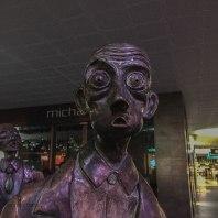 strani individui in giro per la città. Melbourne è piena di sculture e installazioni artistiche (foto: Anna Luciani)