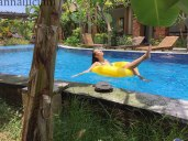 Janan Villa. La splendida piscina (foto: Simone Chiesa)