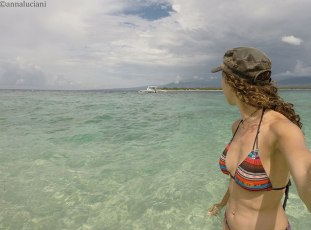 la spiaggia a sud-est dell'isola (foto: Anna Luciani)
