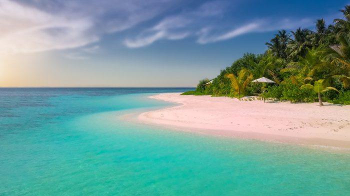 Blue skies Anna Maria Beach