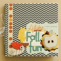 jesienny mini-album